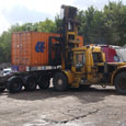 20ft container – loading on